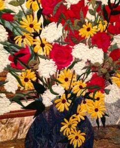 quilt bouquet