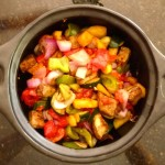 Homegrown and homemade Ratatouille